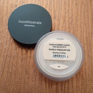 BareMinerals Original Foundation FAIRLY MEDIUM 05